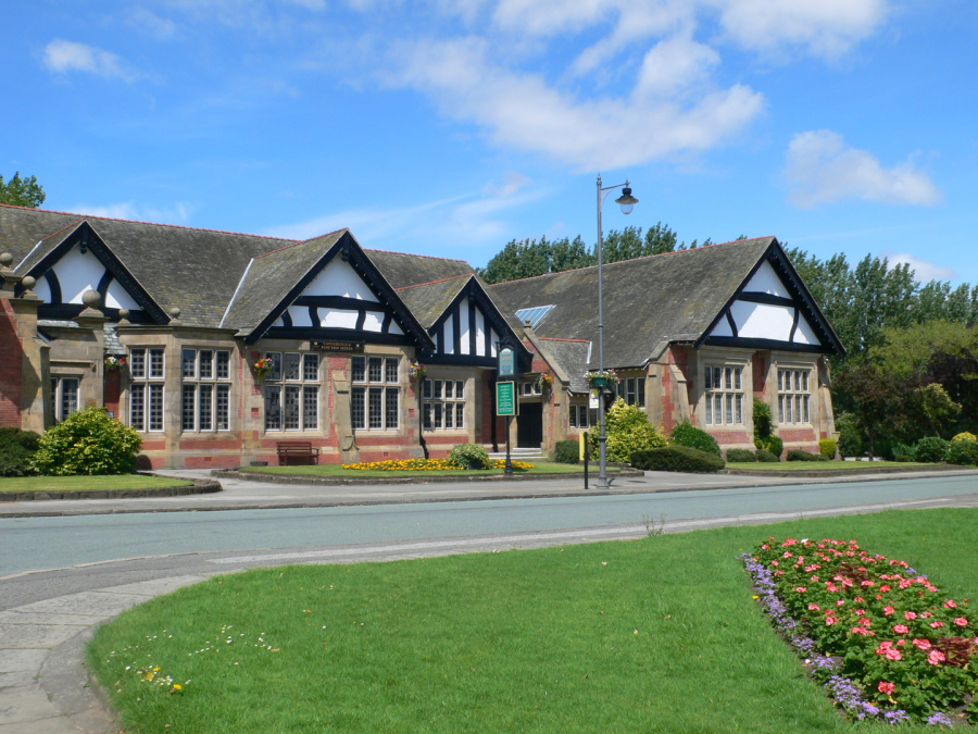 Our venue - Hulme Hall, in the beautiful Port Sunlight village
